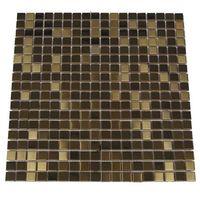 HALCON M-009 - Mozaika ścienna Metal Gold 30x30 cm.