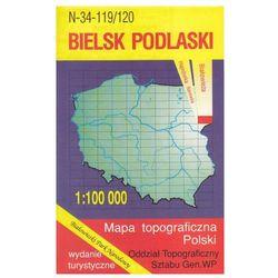 Bielsk Podlaski Białowieża mapa 1:100 000 WZKart (opr. miękka)