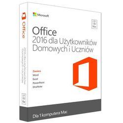 Microsoft Office 2016 dla Użytkowników Domowych i Uczniów Mac - produkt w magazynie - szybka wysyłka!