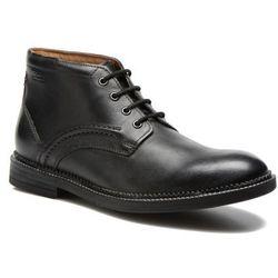 promocje - 10% Buty sznurowane Clarks Bushwick Mid Męskie Czarne Dostawa 2 do 3 dni