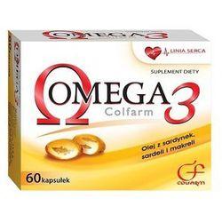 COLFARM 60 kapsułek Omega 3 suplement diety