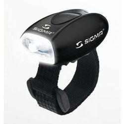 SIGMA Micro - Lampa przednia, czarna - Czarny
