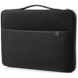 552fb381f8721 HP torba na laptopa 14 Carry Sleeve 3XD33AA#ABB, czarno-złota - BEZPŁATNY