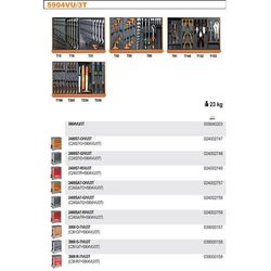 WÓZEK NARZĘDZIOWY 2400/C24SA7 Z ZESTAWEM NARZĘDZI, 146 ELEMENTÓW, MODEL 2400SA7-R/VU3T, CZERWONY