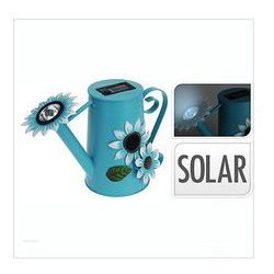 Lampka solarna konewka, niebieska
