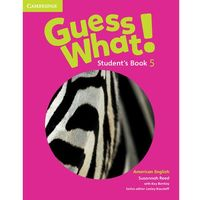 Guess What! American English Level 5 Student's Book (opr. miękka)