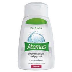 VinSvin ATOMUS Żel pod prysznic z nanosrebrem dla kobiet 250 ml