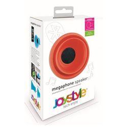 Przenośny głośnik bluetooth czerwony włoskiej marki JoyStyle