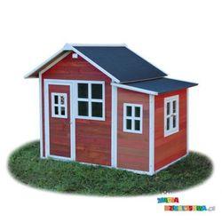 Domek ogrodowy dla dzieci EXIT Loft 150 czerwono - brązowy