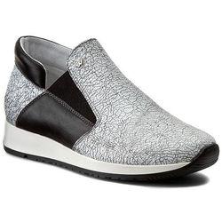 Sneakersy WOJAS - 6484-70 Popiel/Czarny