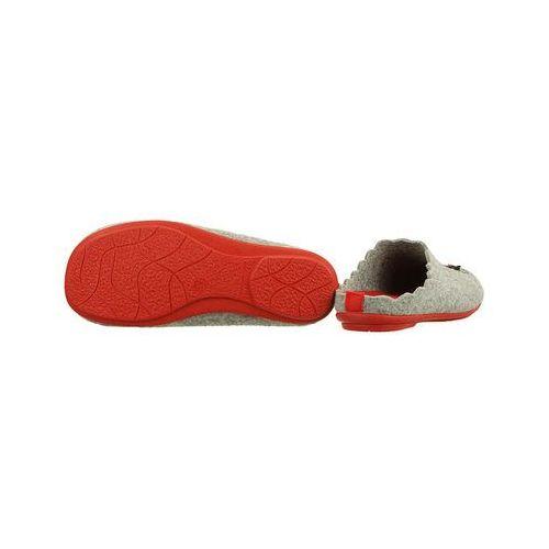 f2391c44 Kapcie Pantofle domowe Ciapy MANITU 320508-9 Popielate - Szary ||Popielaty
