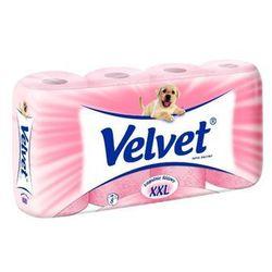 Papier toaletowy VELVET różowy 8szt.
