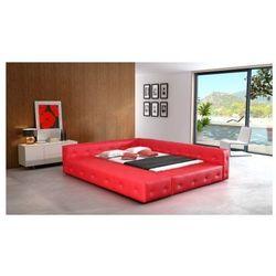 Łóżko tapicerowane BARON 200/200 guziki tapicerowane