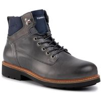 Trzewiki TOMMY HILFIGER - Active Leather Boot FM0FM02427 Griffin 007
