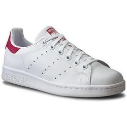 Buty adidas - Stan Smith J B32703 Ftwwht/Ftwwht/Bopink