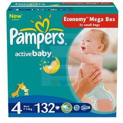 Pampers Active Baby Size 4 Mega Box pieluchy
