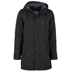 Revolution Płaszcz zimowy black