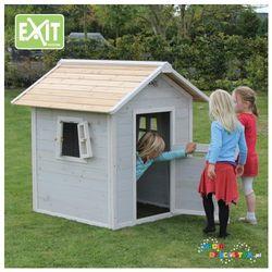 Domek dla dzieci ogrodowy EXIT Beach 100 szary + GRATIS