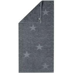 Cawo Frottier ręcznik Star szary, 50 x 100 cm