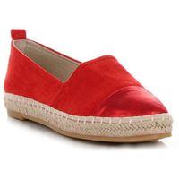 701eb50a228cc Espadryle Damskie na co dzień renomowanej marki Lady Glory Czerwone (kolory)