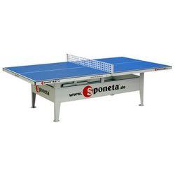 Stół do tenisa stołowego do użytku na zewnątrz S6-67e Sponeta (niebieski)