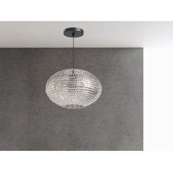 Lampa sufitowa wiszaca nikiel - zyrandol - oswietlenie - REINE