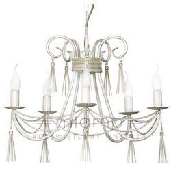 Żyrandol LAMPA wisząca TWIST 4984 Nowodvorski świecznikowy ZWIS metalowy IP20 maria teresa biały