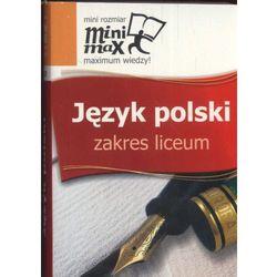 Minimax Język polski zakres liceum (opr. miękka)