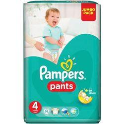 PAMPERS Pants 4 Maxi 52szt Jumbo Pack Pieluchomajtki
