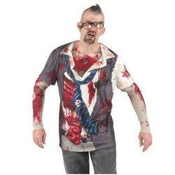 Koszulka Zombie - przebrania dla dorosłych - L