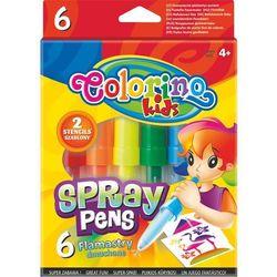 Flamastry dmuchane 6 kolorów