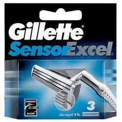 Gillette Sensor Excel 10szt M Wkład do maszynki do golenia