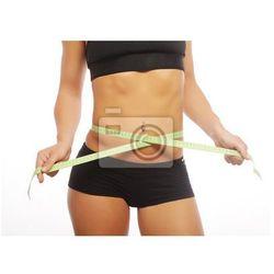 Fototapeta Kobieta części ciała jest mierzona