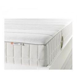 MYRBACKA Materac z pianki memory, twardy, biały 90cm