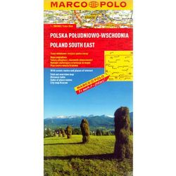 Polska Południowo-Wschodnia. Mapa Marco Polo w skali 1:300 000 (opr. miękka)