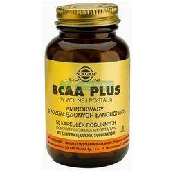 SOLGAR BCAA Plus Aminokwasy rozg. łańcuchy