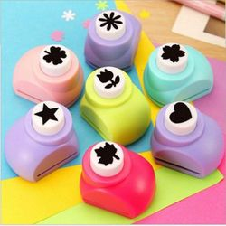 Azerin DIY Paper Punch Cutter Kid Child Mini Printing Hand Shaper Scrapbook Tags Cards Craft Tool 1 PCS Free Shipping