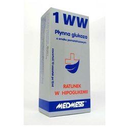 Płynna glukoza 1 WW o smaku pomarańczowym 10 saszetek po 12 ml
