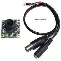 Kamera kolorowa płytkowa 420 linii 1 lux, IR sensitive, ZD912