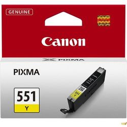 Canon oryginalny ink CLI551Y, yellow, 7ml, 6511B001, Canon PIXMA iP7250, MG5450, MG6350, MG7550