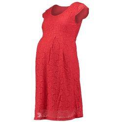 Mama Licious MLCIA Sukienka letnia pompeian red