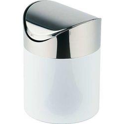 Stołowy Pojemnik na Odpadki | Metalowy | Ø120x170 mm
