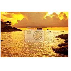 Obraz Tropikalna słońca na morzu . Tajlandia