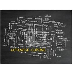 Naklejka Japanese cuisine