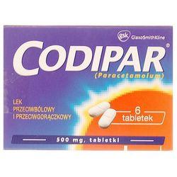 Codipar tabletki 0,5 g 6 sztuk