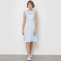 Sukienka w paski bęz rękawów