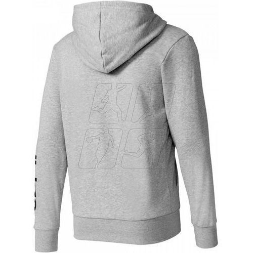 Bluza adidas Essentials Linear Full Zip Hood French Terry M S98794
