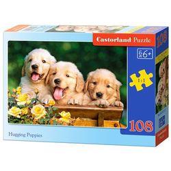 Castorland, Pieski, puzzle, 108 elementów Darmowa dostawa do sklepów SMYK