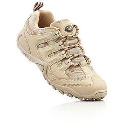 Buty trekkingowe bonprix beżowo-piaskowy