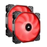 Corsair Air Series AF140 LED Red 140mm Dual Pack
